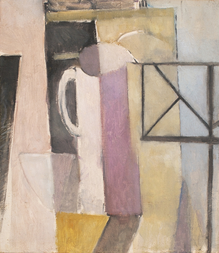 Study for Still-life with Vase, Bowl and Music Stand