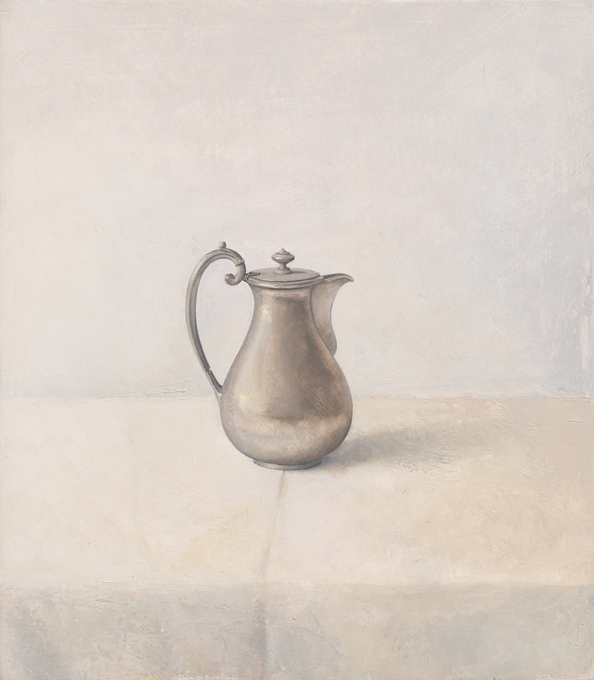 [P109] 07/11 Still life with Pewter Coffee Jug