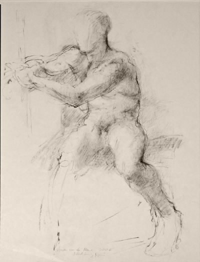 Study for Nude Male (2008)