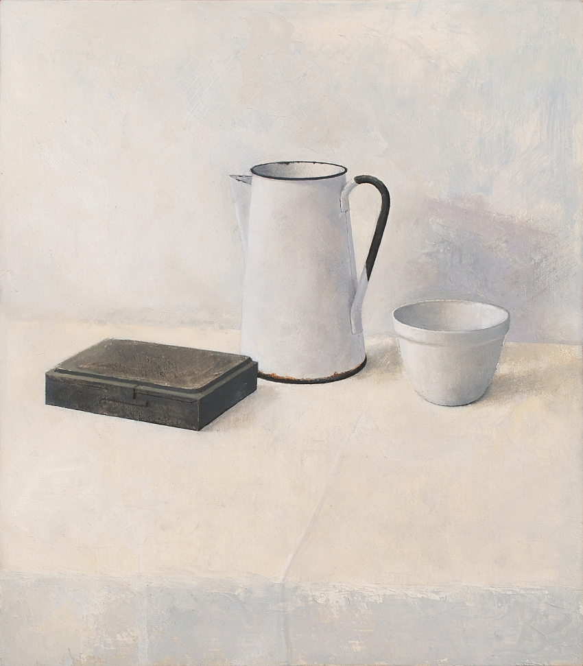 [P95] 06/06 Study for Still life with Paint-box, Jug and Bowl