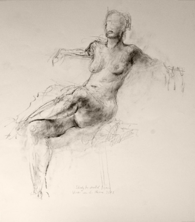 Seated Female: Study (2005)
