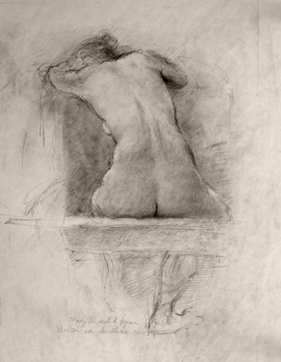 Study for Seated Female Nude (2002)