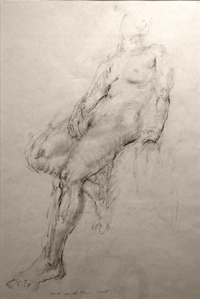 Study for Seated Female (2005)