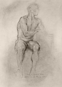 Study for Seated Male (2008)